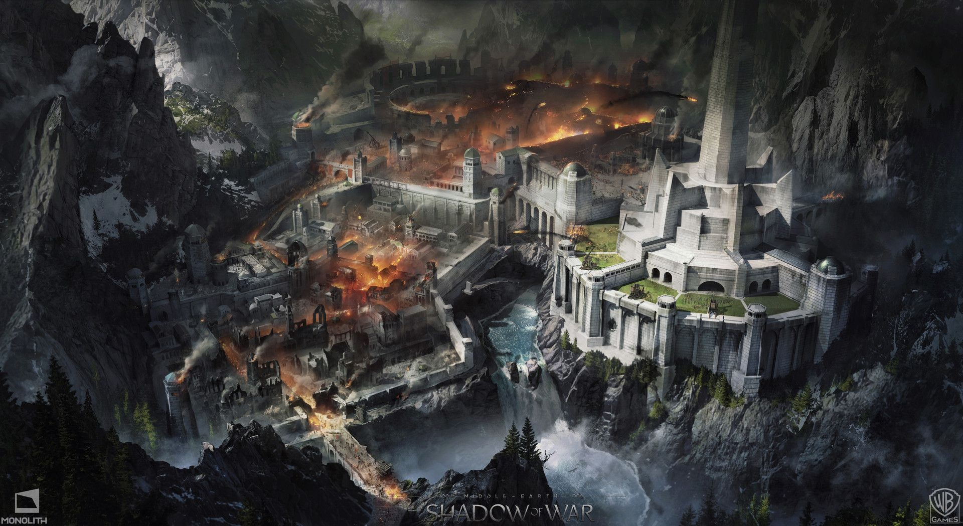The Art Of Middle Earth Shadow Of War Concept Art World Middle