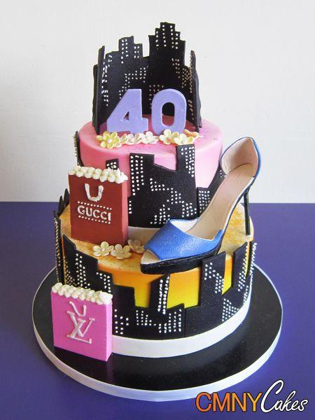 birthday new york city themed cake rhea walsh walsh. Black Bedroom Furniture Sets. Home Design Ideas