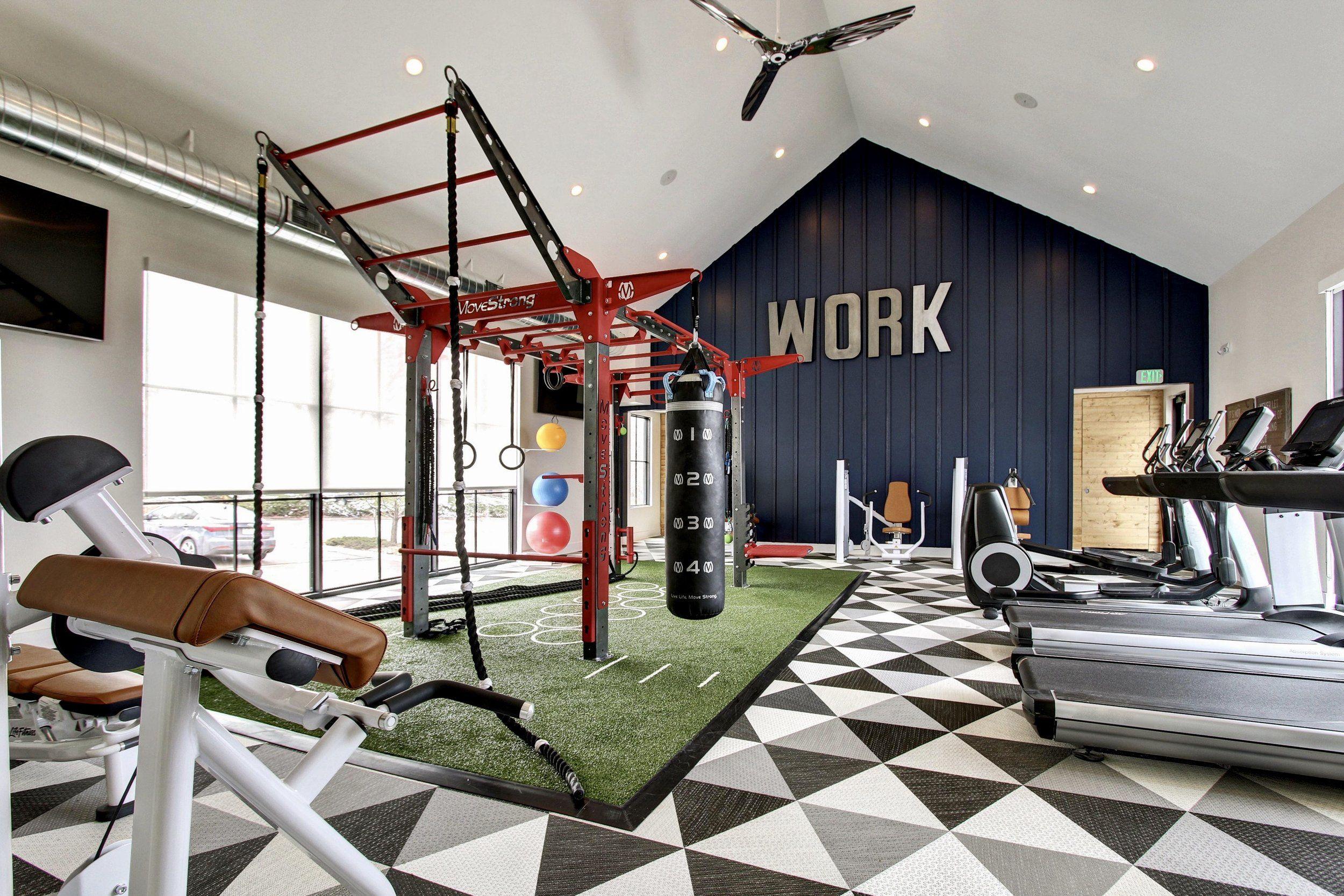 15 Best Industrial Home Gym Ideas Home Gym Design Gym Interior Industrial House