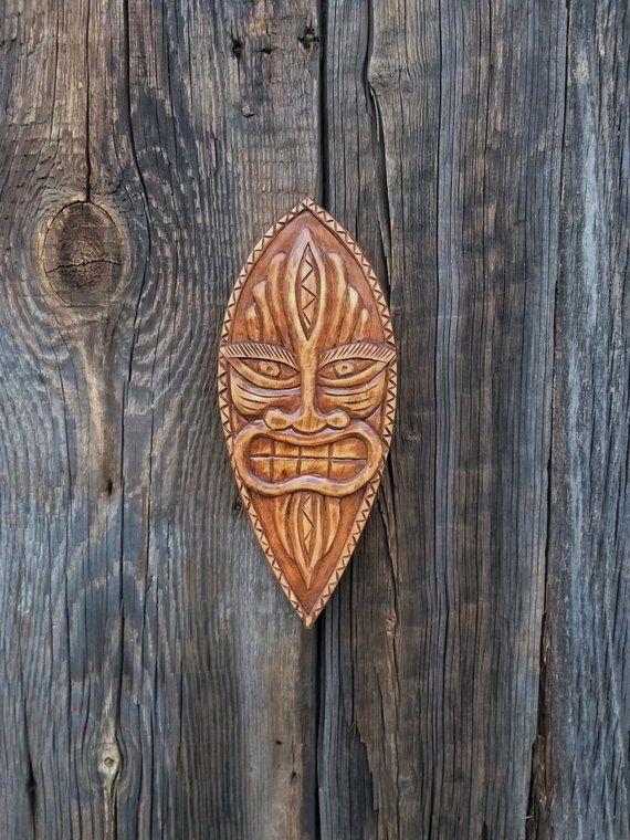 Mask Wood Wooden Mask Hand Carved Wood Mask Wood Carving