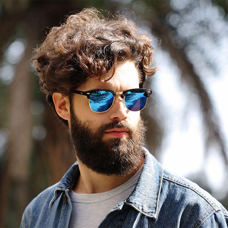ca2ac26b7c 2017 oculos de sol feminino Clubmaster Sunglasses For Men ray Sun glasses  Mirror Lens vintage flash lens women gafas With logo