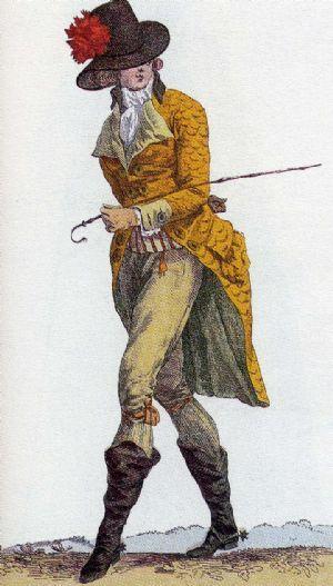 Moda maschile della Rivoluzione - Rivoluzione francese