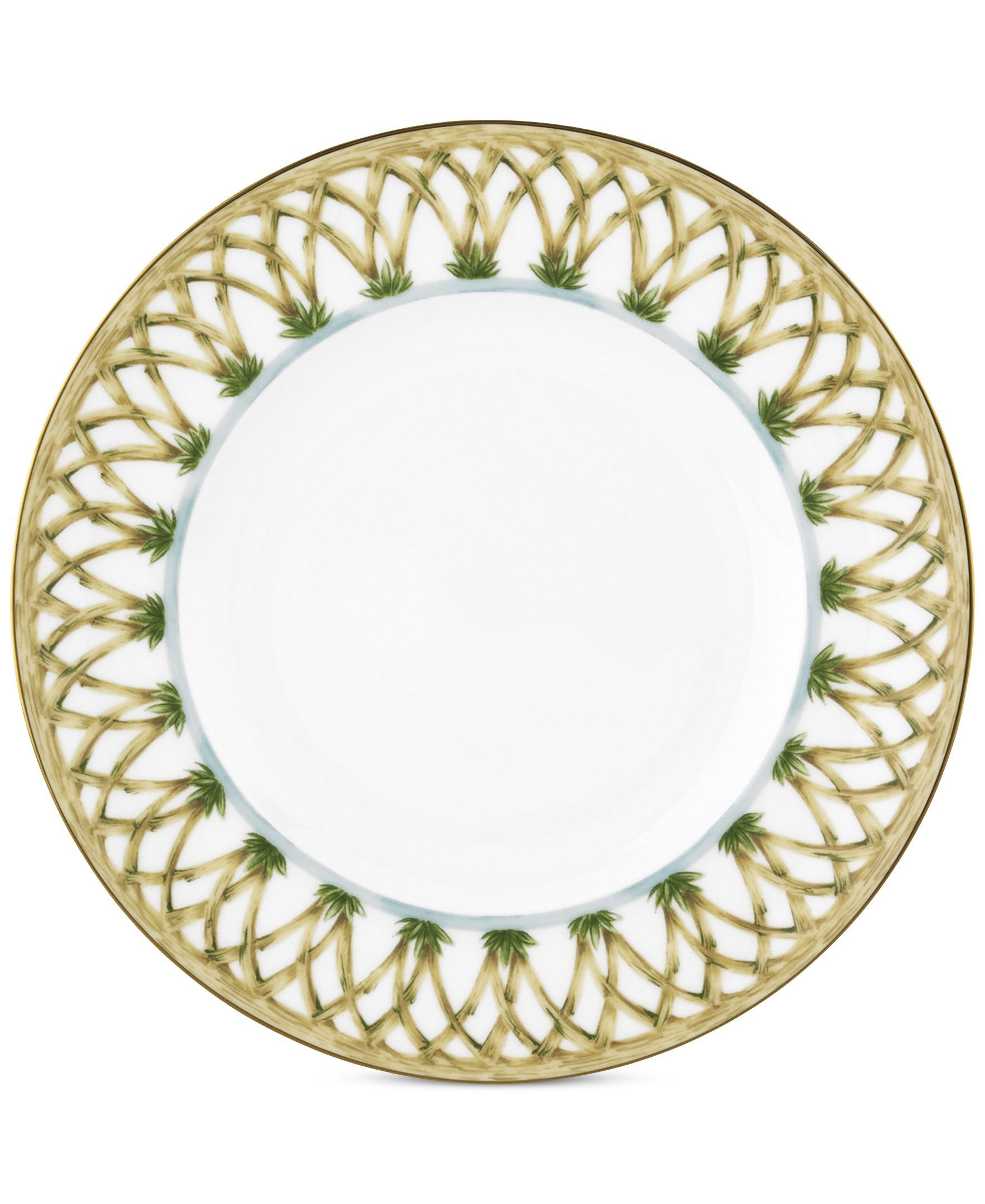 British Colonial Accent Salad Plate British Colonial British Colonial Decor Plates
