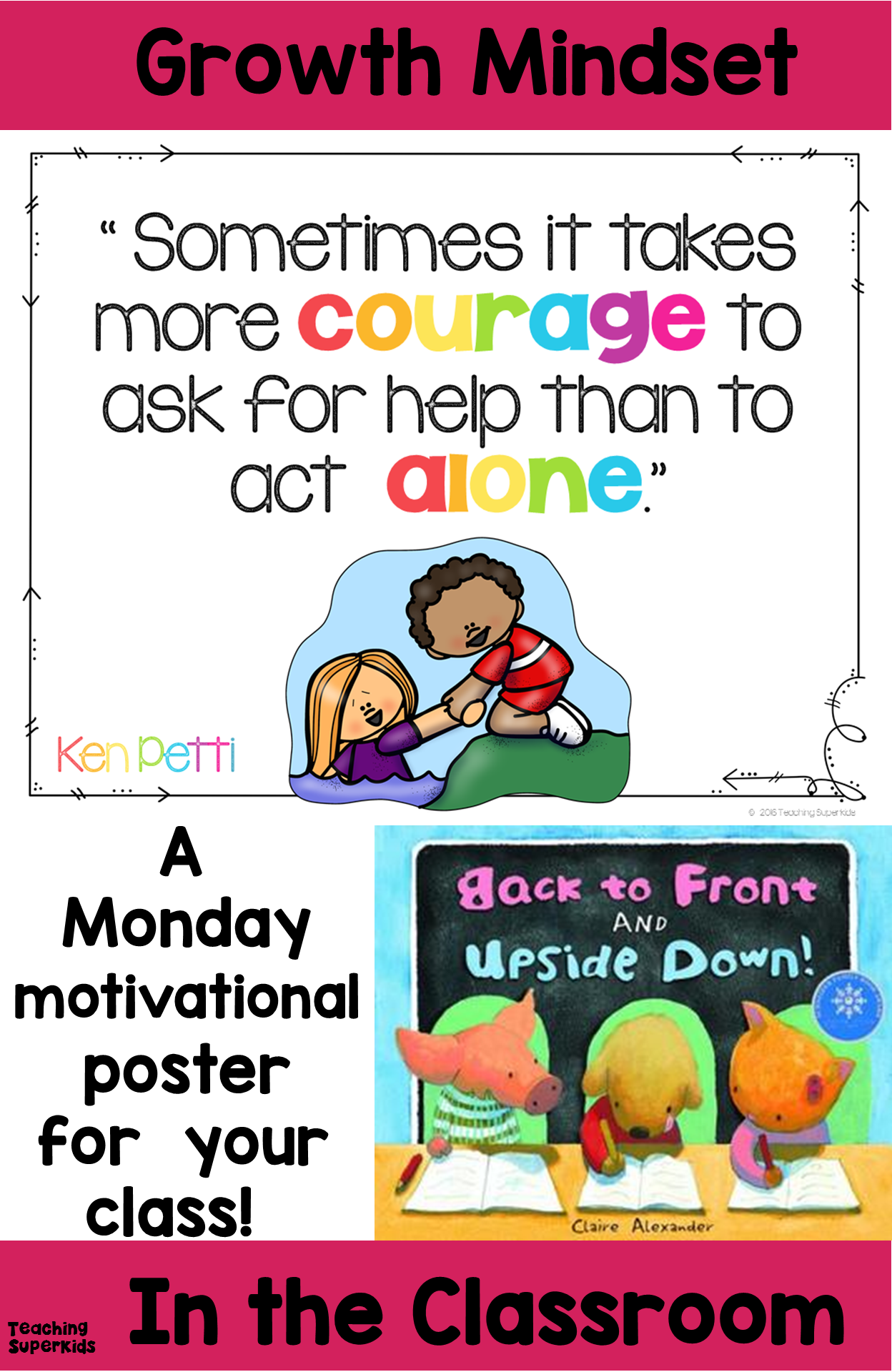 Growth Mindset Courage To Ask For Help