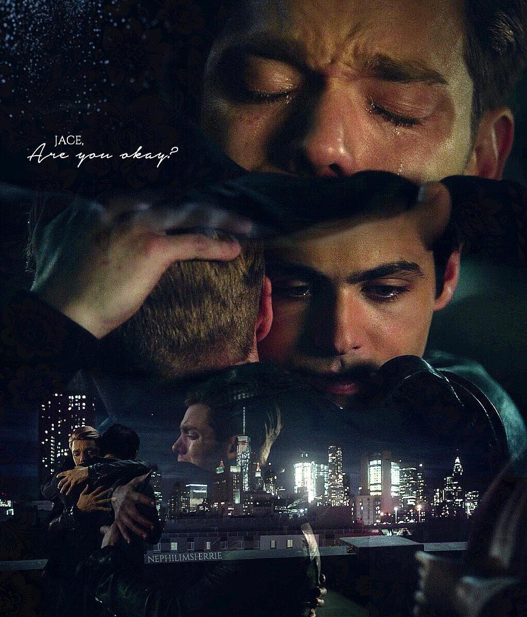 "#Shadowhunters 2x11 ""Mea Maxima Culpa"" - Jace and Alec >> NOOO STHAP AHHH"
