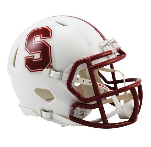 Stanford Cardinal Riddell Mini Speed Helmet By Riddell Game Day Treasures Football Helmets Mini Football Helmet College Football Helmets