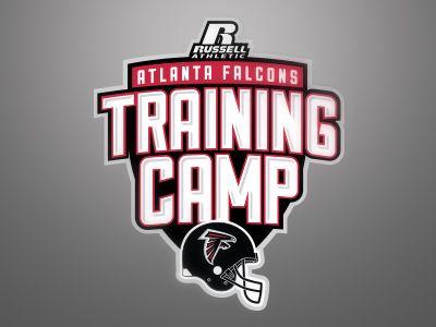 Atlanta Falcons Training Camp Logo Camp Logo Training Camp Atlanta Falcons