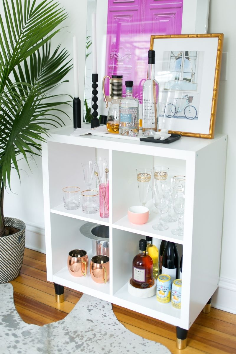 3 Ways to Style and Use Ikea\'s Kallax (Expedit) Shelf in 2018 | For ...