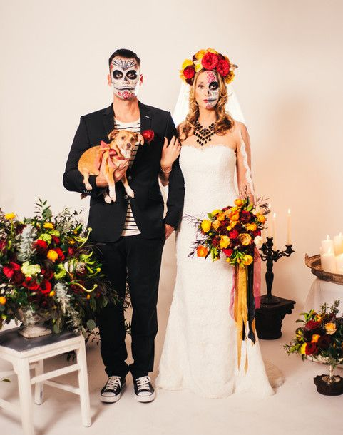 Dress Bklyn Bride Blogger Wedding Halloween Costume Makeup Animal Hipster