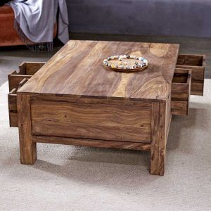 Sheesham Coffee Table With Drawers httproyalparkschoolorg