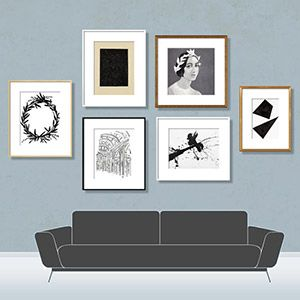 Plan A Gallery Wall With This New App Gallery Wall Spacing Perfect Gallery Wall Gallery Wall