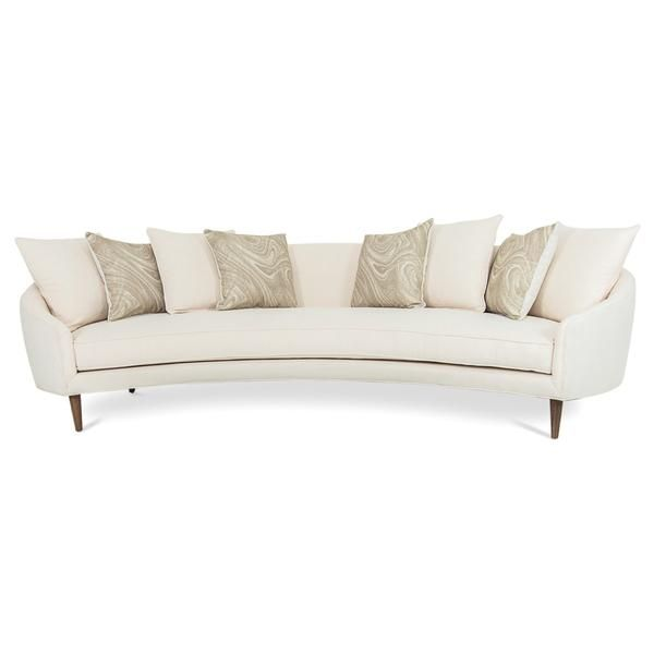 Awe Inspiring Art Deco Sofa In Cream Linen Modshop1 Com Cute Couches Ibusinesslaw Wood Chair Design Ideas Ibusinesslaworg