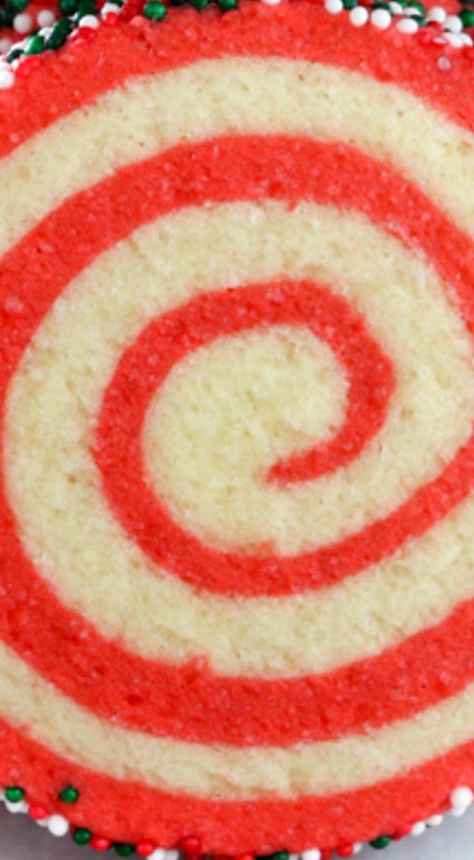 Christmas Pinwheel Sugar Cookies Easy Festive Pinwheel Cookies