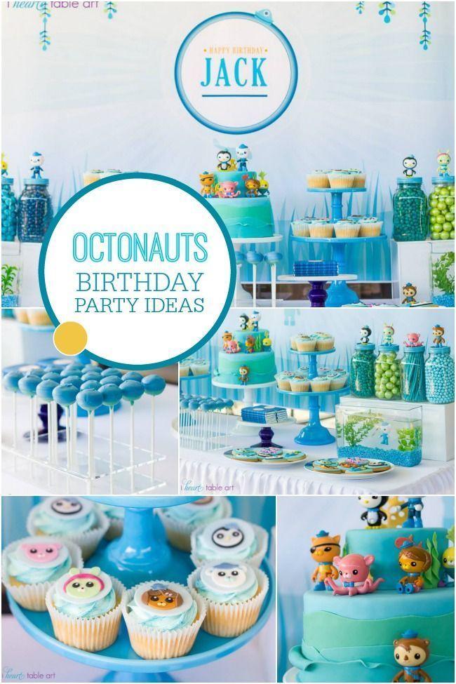 A Boys Octonauts Inspired 3rd Birthday Party
