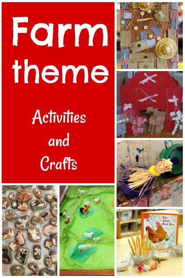 45 Preschool Farm Theme Activities   Farm animals ...