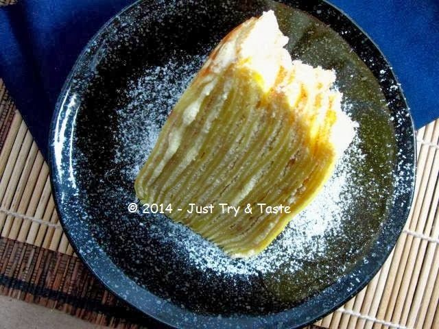 Mille Crepes Cake Dengan Seribu Lapis Makanan Resep Resep Makanan