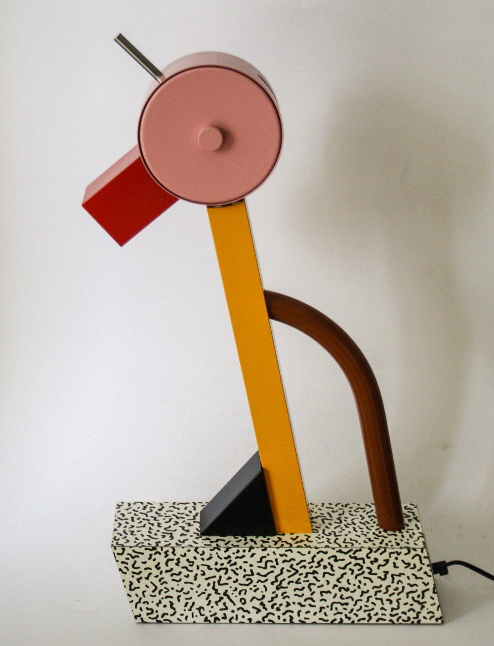 Tahiti Desk Light Table lamp Memphis Design Ettore Sottsass 1981 Vintage