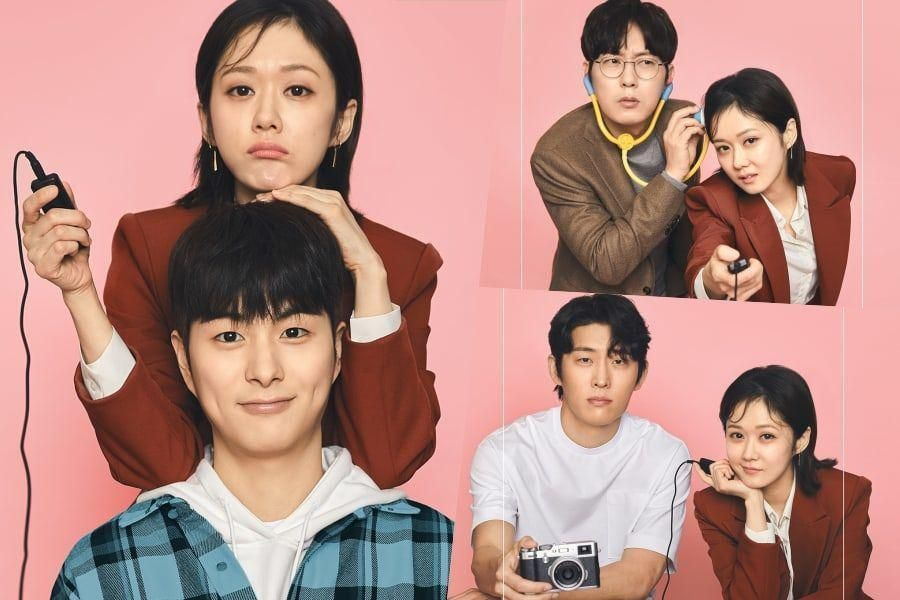 "Jang Nara, Jung Gun Joo, Park Byung Eun, And Go Joon Preview 3 Different Kinds Of Romantic Chemistry In ""Oh My Baby"" Posters"