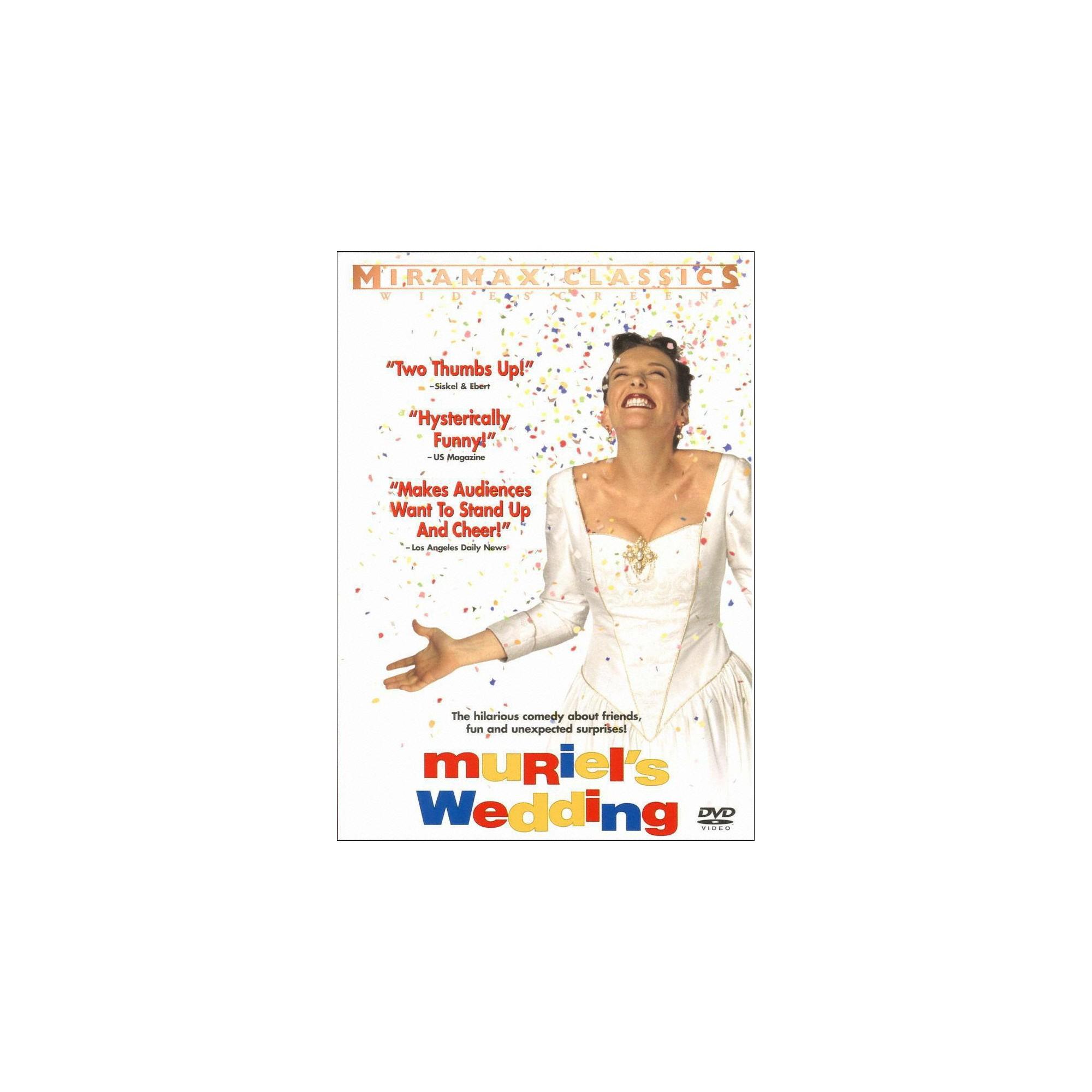 Muriel's wedding (Dvd), Movies Muriel's wedding, Wedding