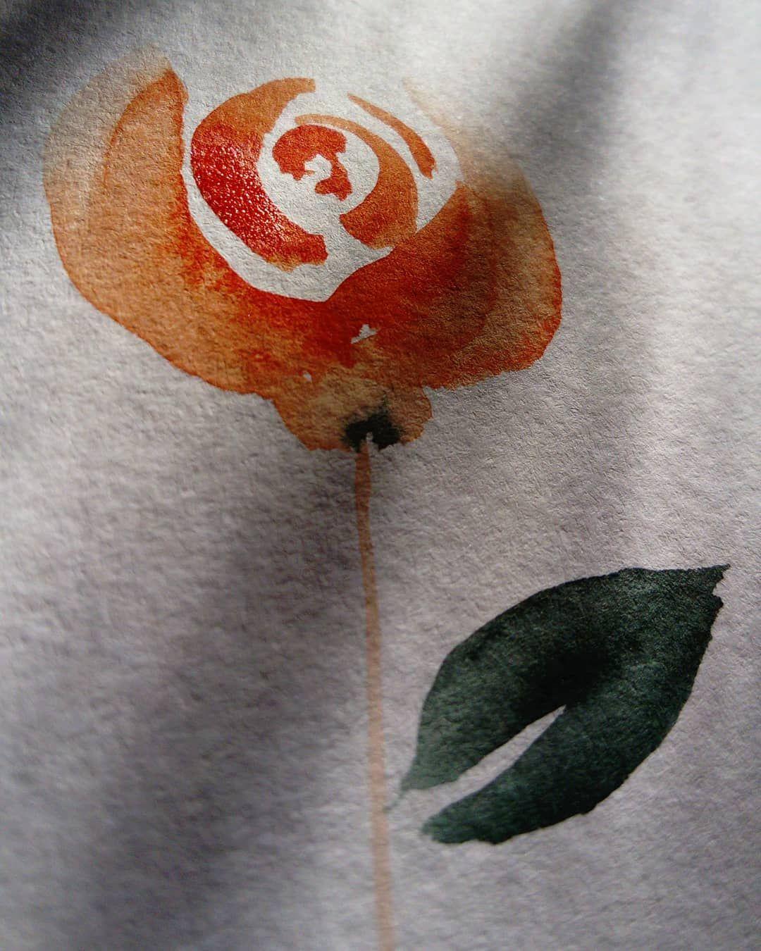 Ncore Une Rose J Ai Melanger Orange De Cadmium Avec Le Rouge