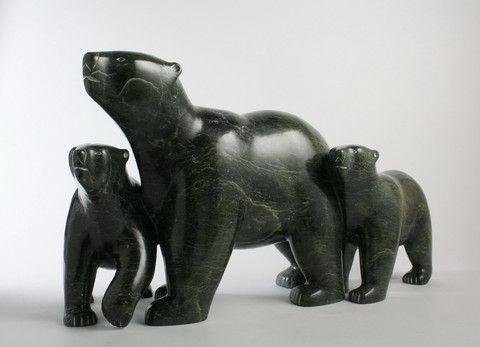 Ursa Major: The Great Bear, 2014 Inuit Art Inuit Sculpture Eskimo ...
