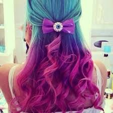7 Amazingly Easy Ways To Fix A Bad Hair Day At Work Hair Styles Purple Ombre Hair Cool Hair Color