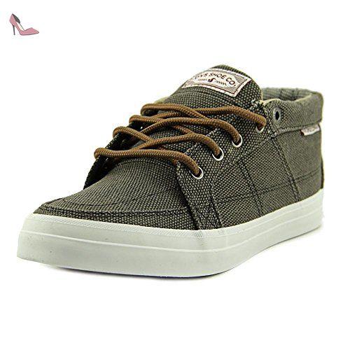 DVS Rivera Jeunesse US 5 Gris Baskets - Chaussures dvs apparel  (*Partner-Link