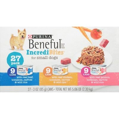 Beneful Incredibites Wet Dog Food Variety Pack 27ct Dog Food