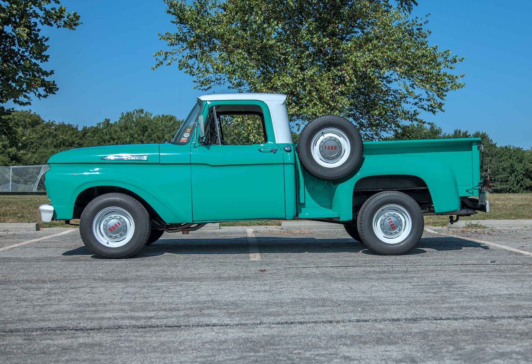Having Too Much Fun to Stop for Paint 1961 Ford F100