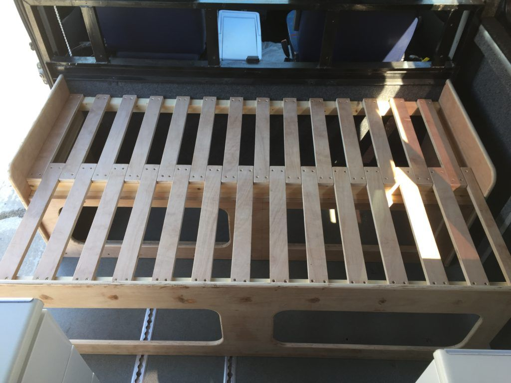 Camper Van Pull Out Bed M A D E Builders Uk Pull Out Bed