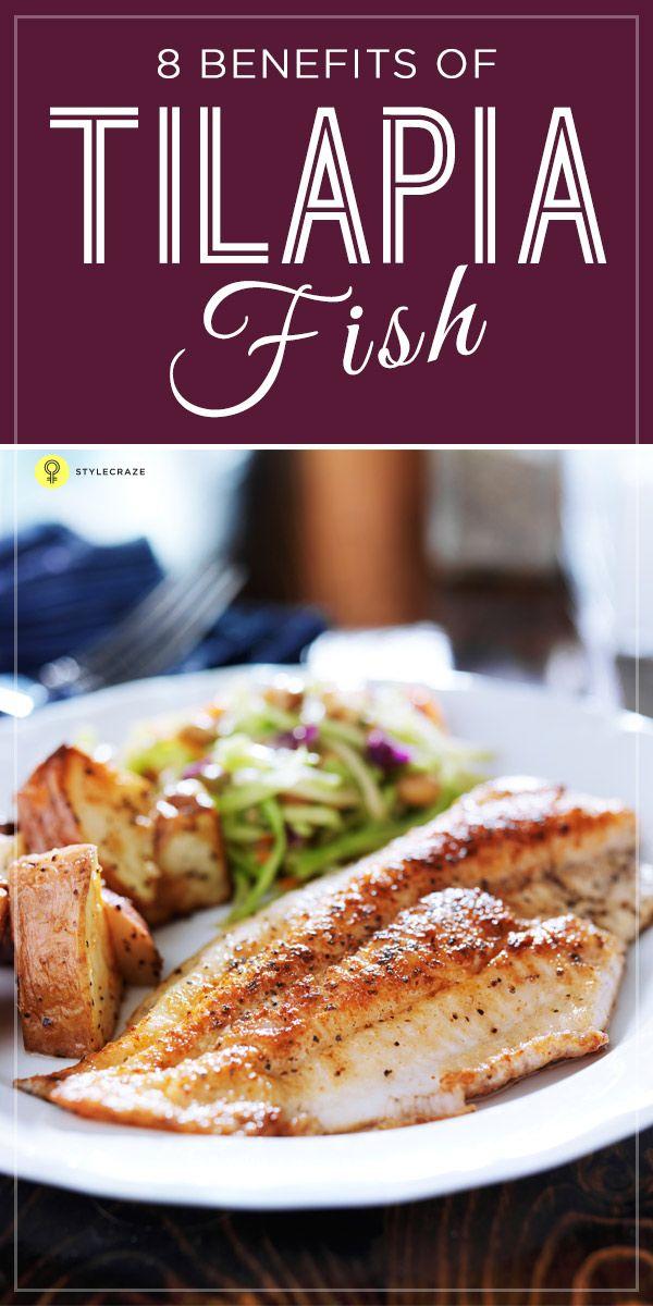 Tilapia Fish Nutrition Profile Benefits And Recipes Food Health Benefits Fish Recipes Healthy Healthy Tilapia