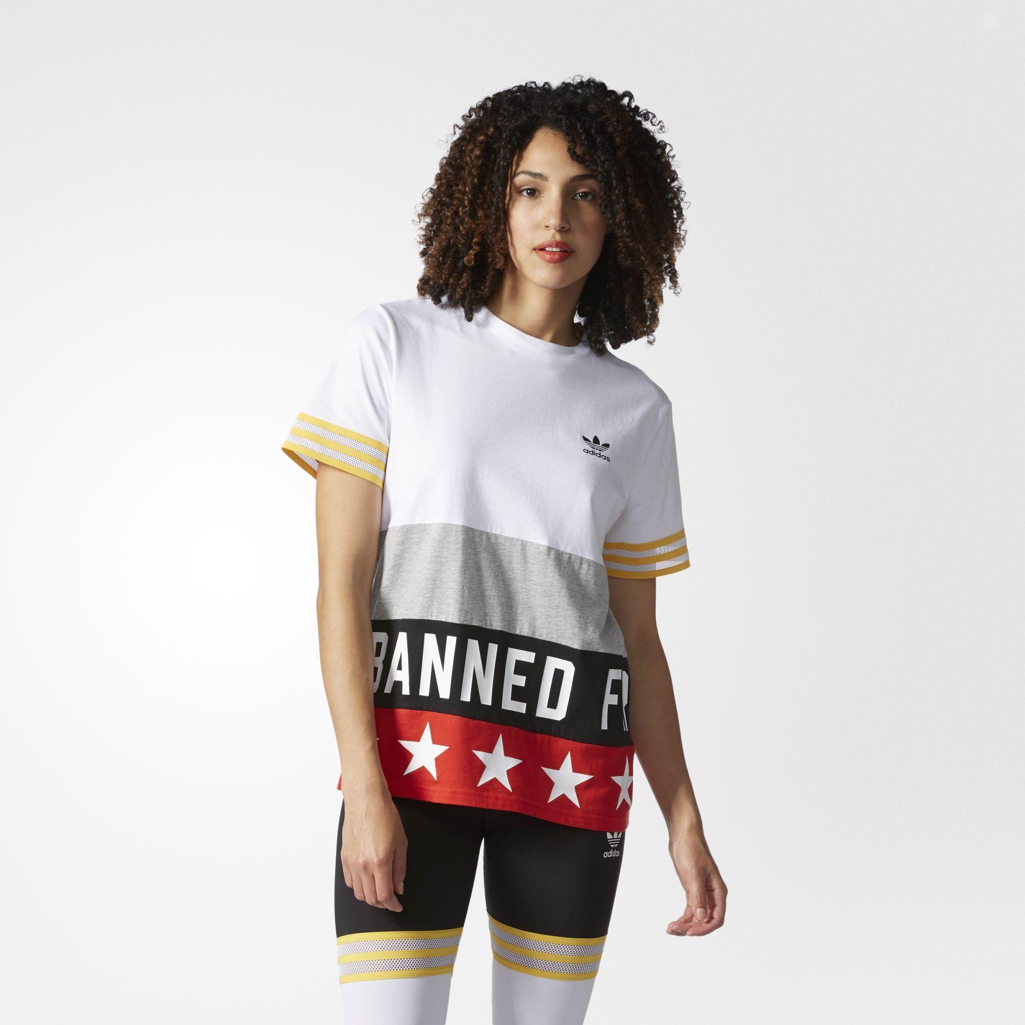 camiseta adidas rita ora