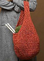 4 Market Bags to Knit or Crochet Crochet, Knits and Shopping