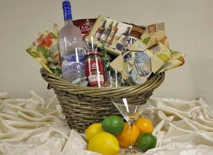 Gift baskets for bridal shower prizes