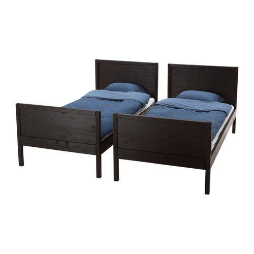 NORDDAL Køyeseng IKEA Kan deles til to enkeltsenger. Stigen kan monteres på høyre eller venstre side av sengen. Massivt tre, et slitesterkt materiale.