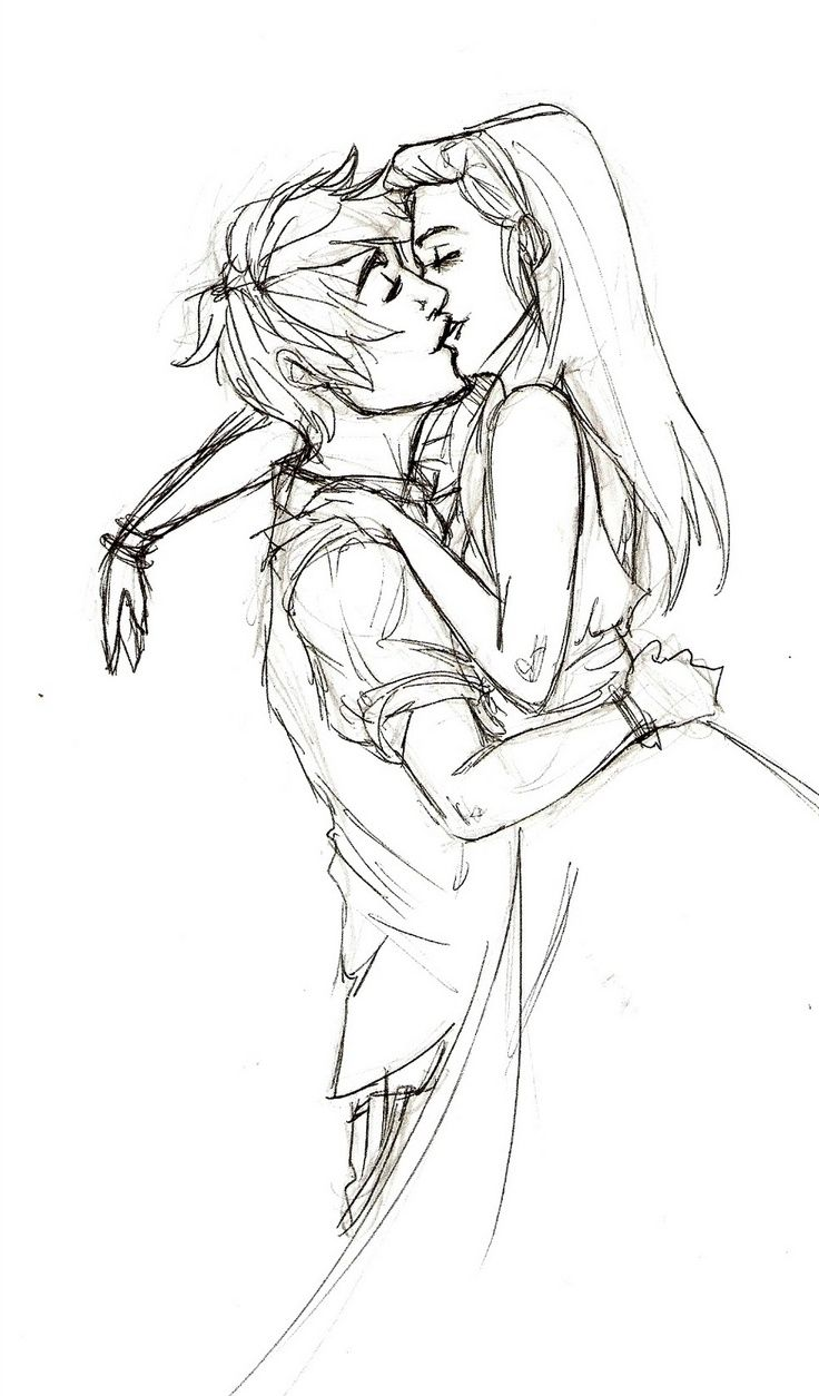 Drawings of couples hugging tumblr easy kissing couple sketch some art pinterest couple sketch kissing drawing