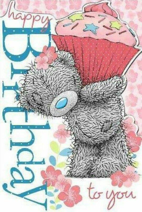 Teddy Bear Birthday Card Happy Birthday Cards Happy Birthday Greetings Birthday Greetings