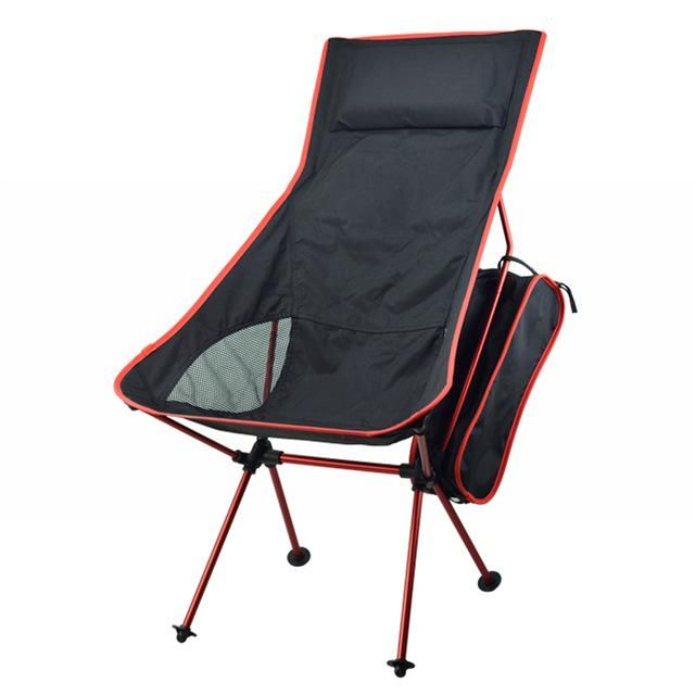 Awesome Portable Fishing Camping Chair Seat Lightweight Folding Outdoor Chairs for Fishing Picnic Luxury - Latest packable chair Ideas