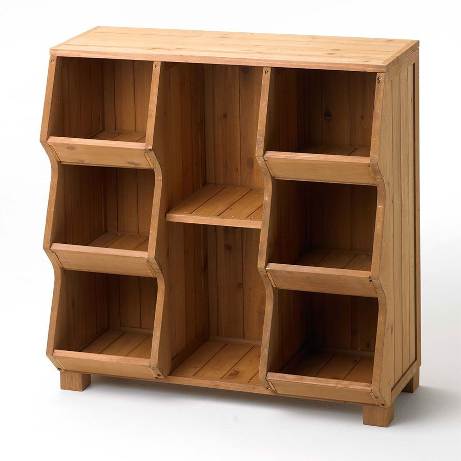 6 Compartment Storage Cubby Toy Storage Bins Cubby Storage Wooden Cubby