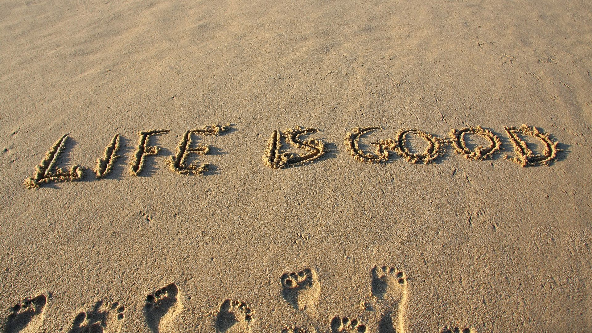 Perfect Life Is Good Quotes | Life Is Good Motivational Wallpaper