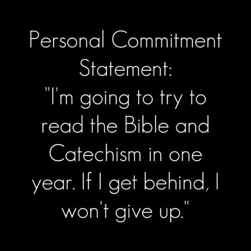 Personal Commitment Statement Catholic quotes Pinterest