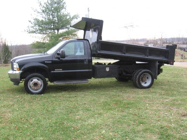2004 Ford F 550 Super Duty Dump Truck 6 0 Power Stroke Diesel Engine Automatic Transmission Air Conditioning 10ft Contrac Dump Body Trucks For Sale Trucks