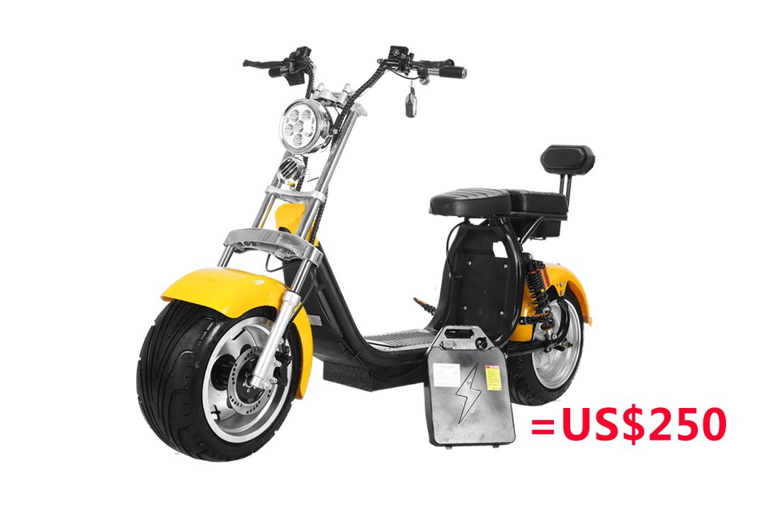 el scooter harley citycoco 1000w electric scooter big. Black Bedroom Furniture Sets. Home Design Ideas
