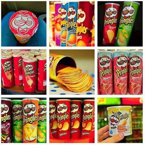 Try every type of Pringles.....
