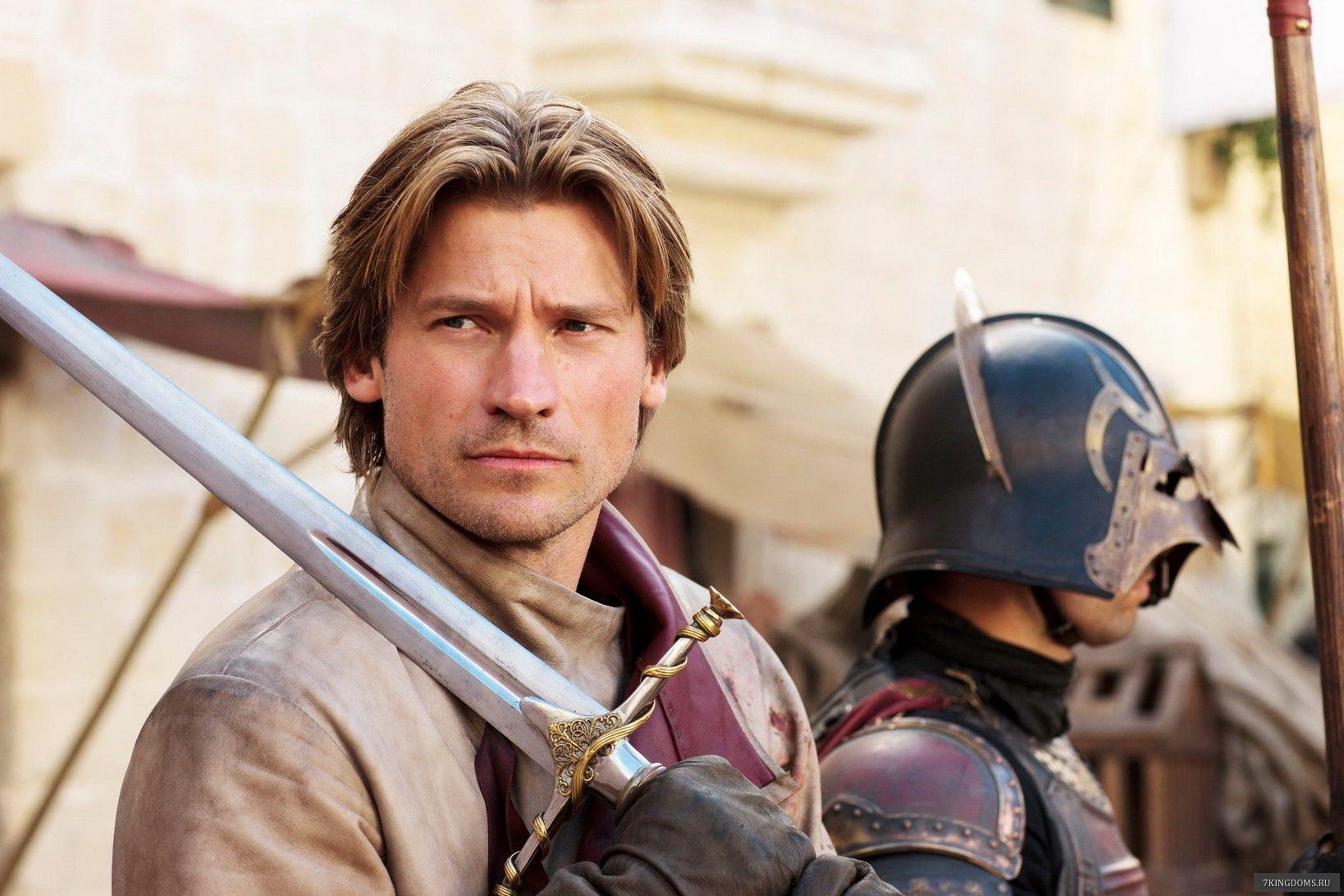 Jaime Lannister Sword The Sword Defending House Lannister In The New Season Of Game Of Thrones Want It Jaime Lannister Nikolaj Coster Nikolaj Coster Waldau