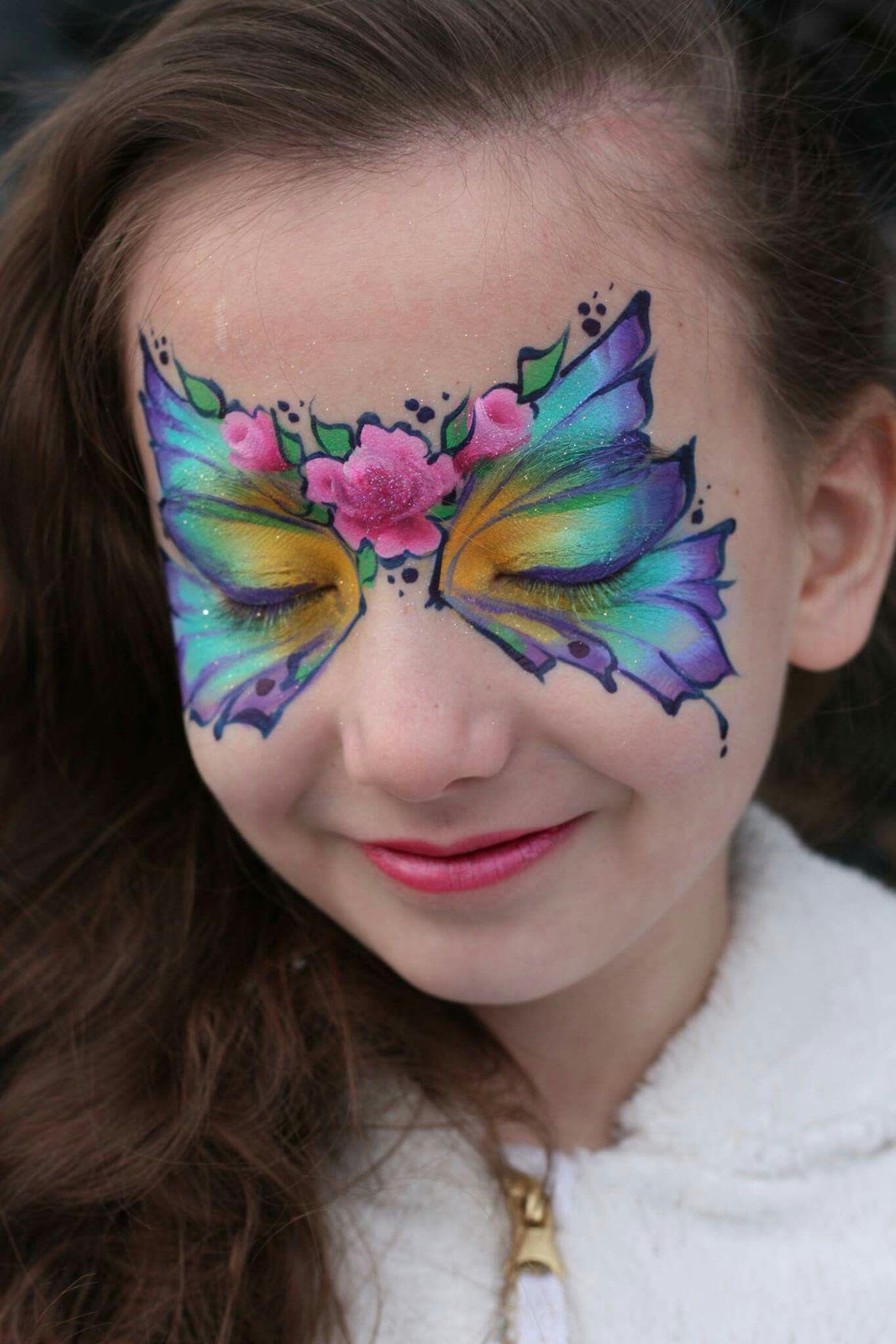 Pin Von Simone Rabas Auf Kinderschminken Grimage Maquillage