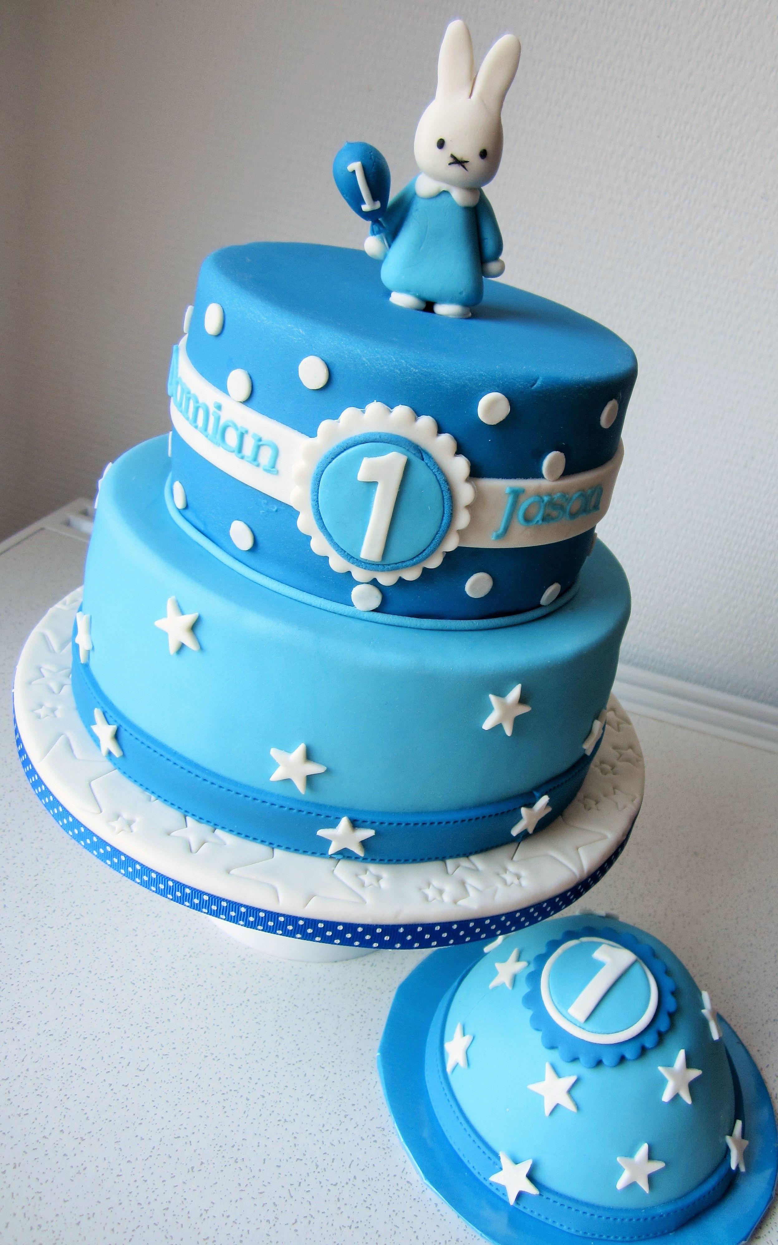 nijntje taart met meptaartje feesttaarten pinterest taart taarten en verjaardag. Black Bedroom Furniture Sets. Home Design Ideas