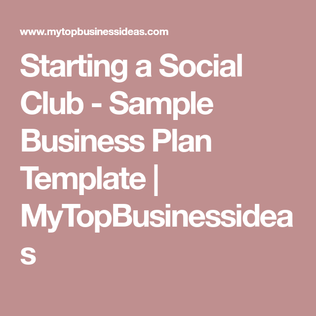 social club industry