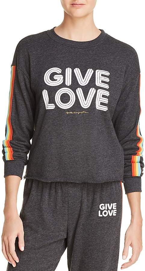 98db3de7 Spiritual Gangster Give Love Sweatshirt - 100% Exclusive | Products ...