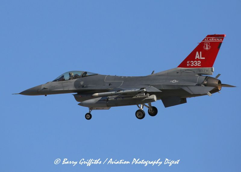 "https://flic.kr/p/S1y2XJ   RED FLAG 17-2: General Dynamics F-16C Viper 87-0332, ""City of Huntsville"", Alabama ANG 100th FS   RED FLAG 17-2: General Dynamics F-16C Viper 87-0332, ""City of Huntsville"", Alabama ANG 100th FS 187th FW AL Montgomery ANG Base @ Nellis AFB, Las Vegas, NV USA"